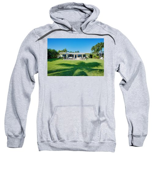 Palm Back Yard Sweatshirt