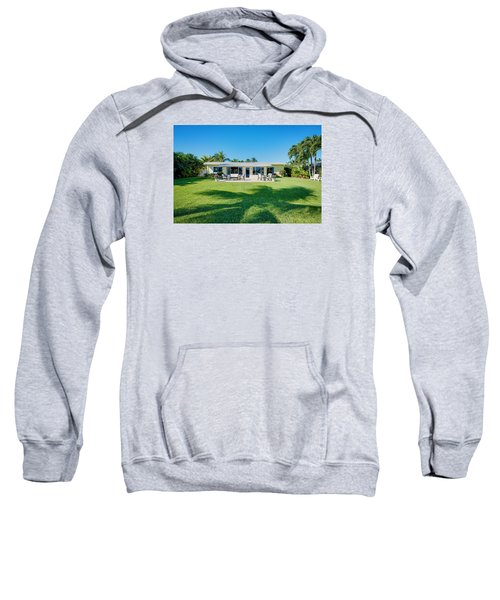 Palm Back Yard Sweatshirt