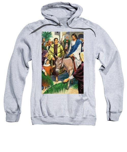 Palm Sunday Sweatshirt by Clive Uptton