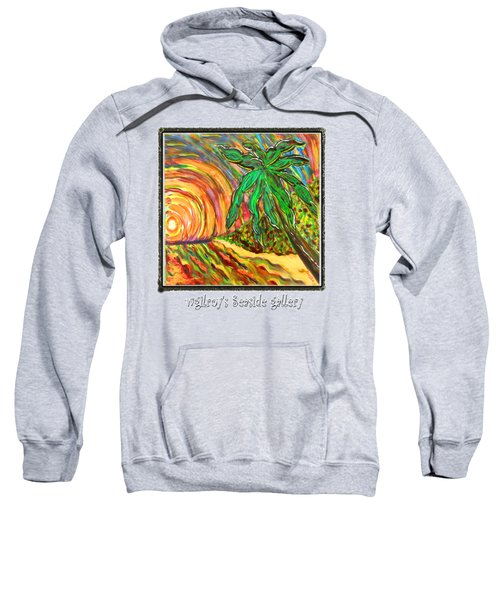 Palm Sunrise Sunset Sweatshirt