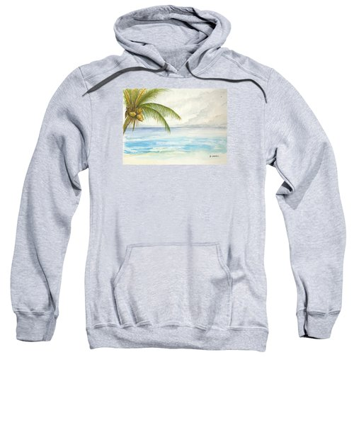 Palm Tree Study Sweatshirt