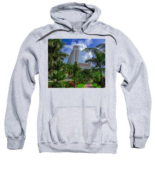 Palms At The Riu Cancun Sweatshirt