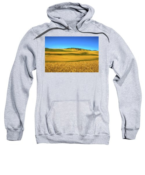 Palouse Wheat Field Sweatshirt