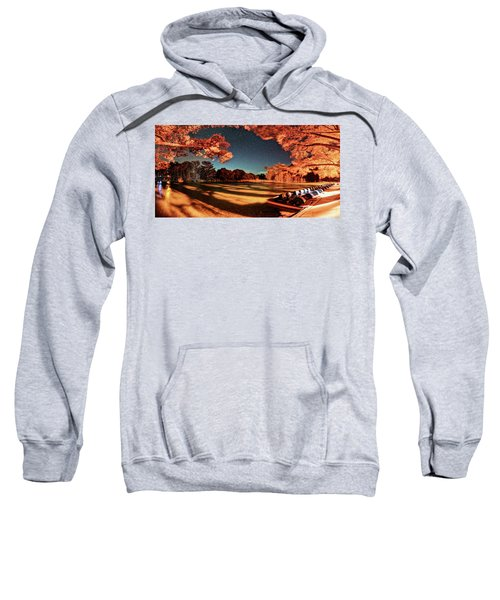 Panorama Of A Starry Night Over The Frio River - Garners State Park - Texas Hill Country Sweatshirt