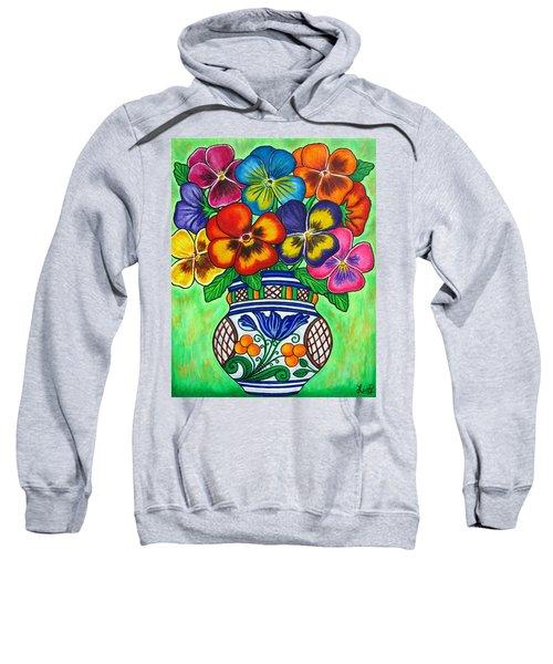Pansy Parade Sweatshirt