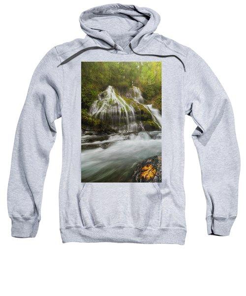 Panther Creek Falls In Fall Season Sweatshirt