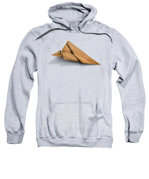Paper Airplanes Of Wood 2 Sweatshirt by Yo Pedro