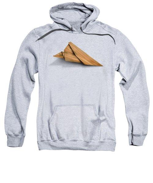 Paper Airplanes Of Wood 2 Sweatshirt