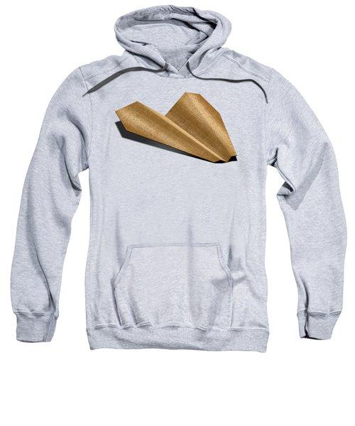 Paper Airplanes Of Wood 6 Sweatshirt