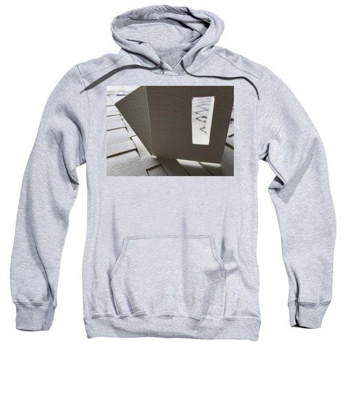 Paper Structure-3 Sweatshirt