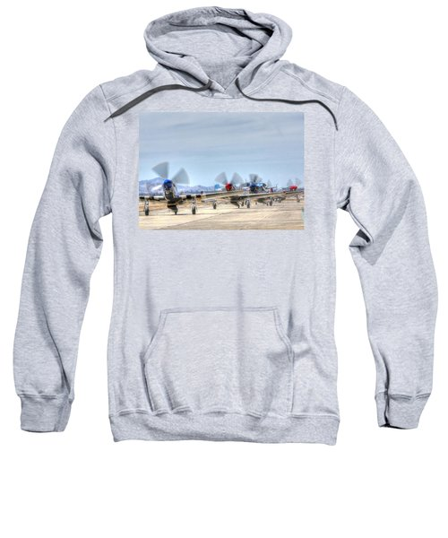 Parade Of Mustangs Sweatshirt