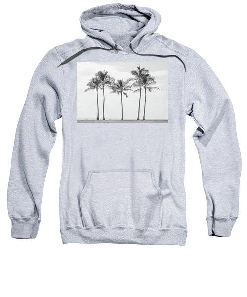 Paradise In Black And White II Sweatshirt