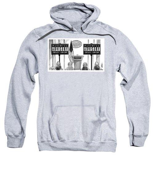 Parental Advisory Explicit Content Sweatshirt