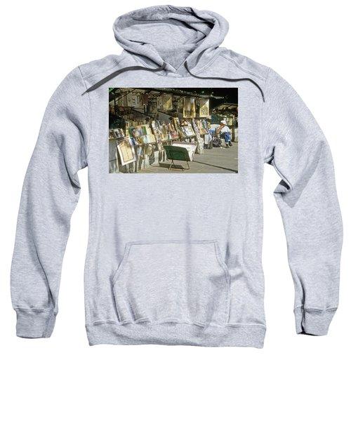 Paris Bookseller Stall Sweatshirt