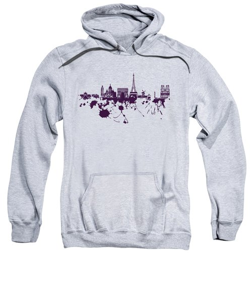 Paris Skyline.1 Sweatshirt