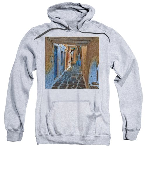 Paros Beauty Island Greece  Sweatshirt