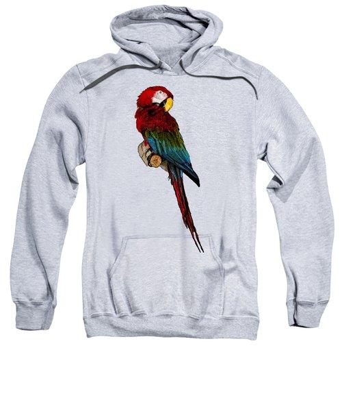Parrot Art Sweatshirt