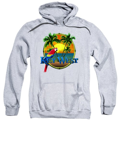 Parrot Of Key West Sweatshirt