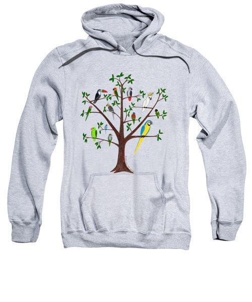 Parrot Tree Sweatshirt
