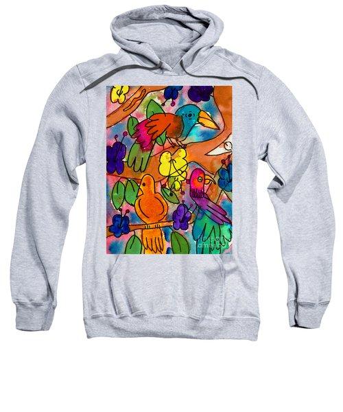 Parrots Sweatshirt