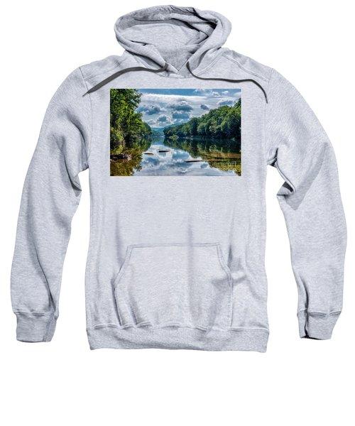 Partially Cloudy Gauley River Sweatshirt