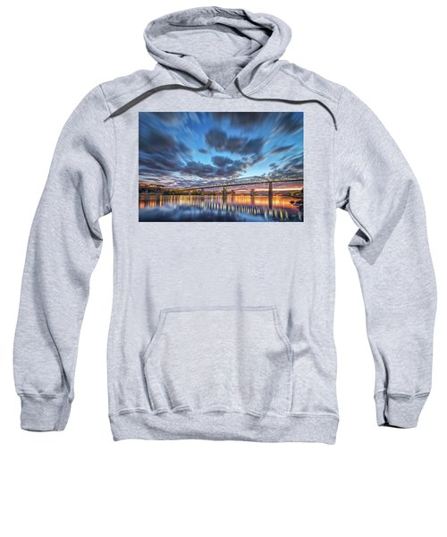Passing Clouds Above Chattanooga Sweatshirt