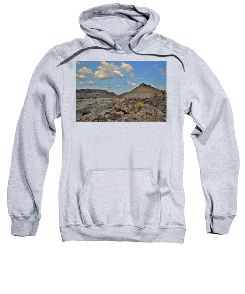 Passing Morning Clouds Over Colorado Nm Sweatshirt