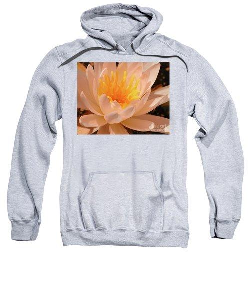 Sweatshirt featuring the digital art Pastel Pleasures  by Kim Pate