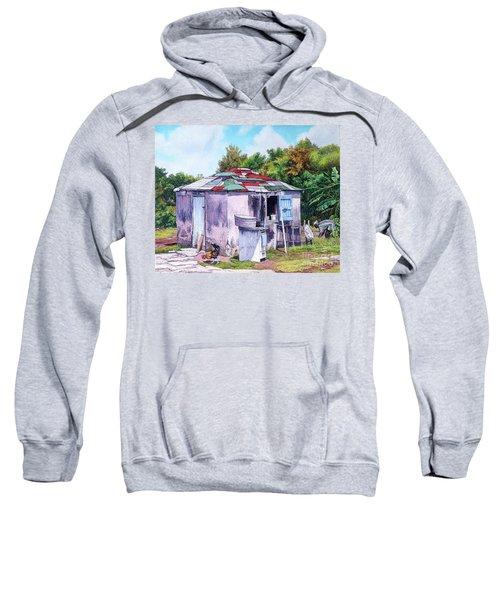 Cat Island Patch Sweatshirt