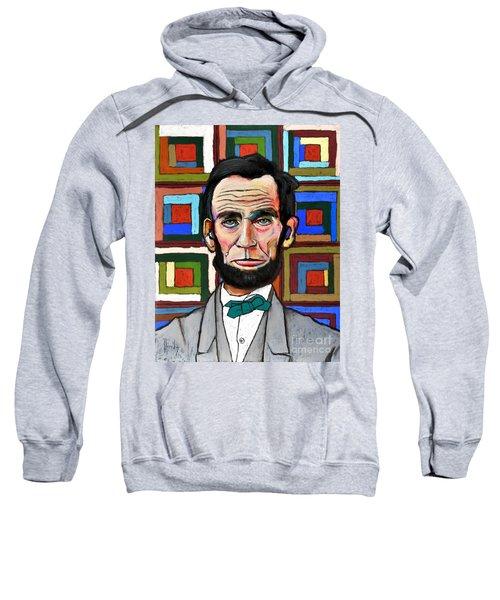 Patchwork Lincoln Sweatshirt