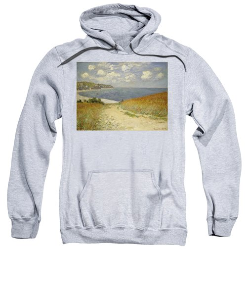 Path In The Wheat At Pourville Sweatshirt