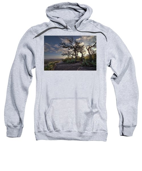 Pathway On Top Of Enchanted Rock Sweatshirt