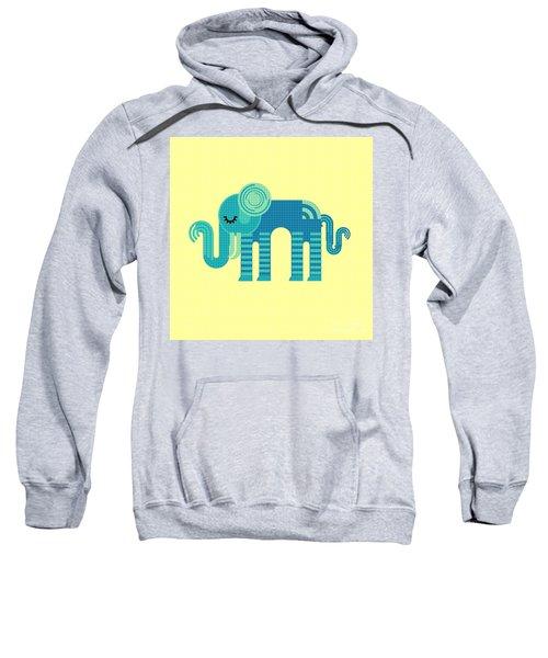 Pattern Elephant Sweatshirt