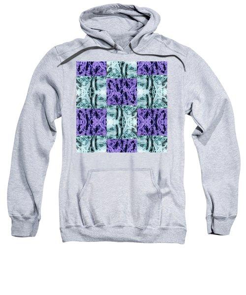Ultra Violet  And Water  Sweatshirt