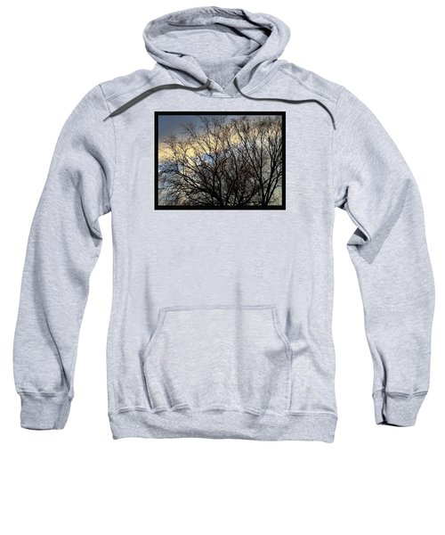 Patterns In The Sky Sweatshirt by Frank J Casella