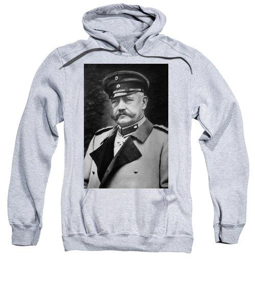 Paul Von Hindenburg - President Of Weimar Republic Sweatshirt