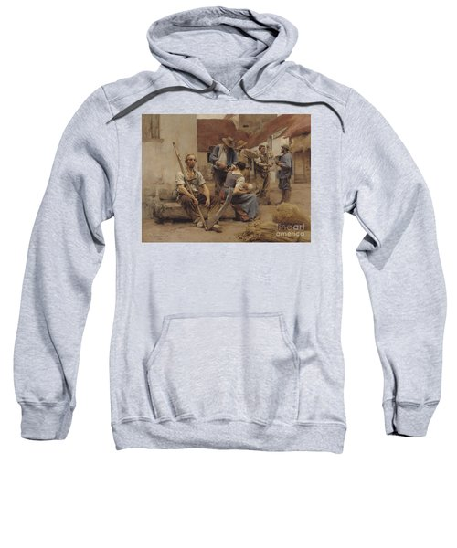 Paying The Harvesters Sweatshirt