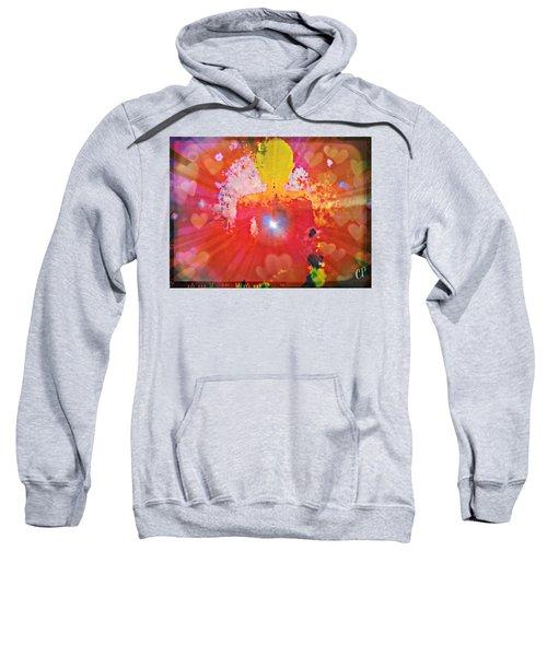 Peace And Love Meditation Sweatshirt