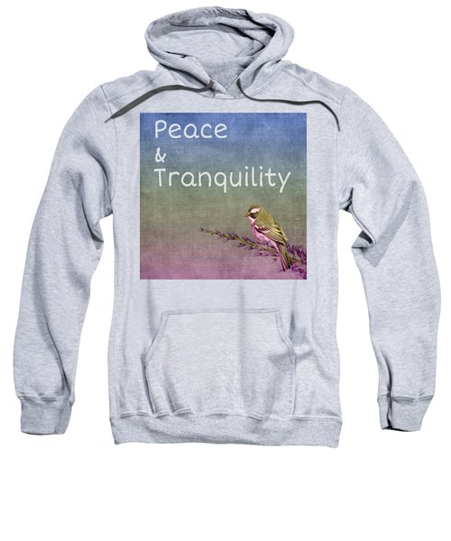 Peace And Tranquility  Sweatshirt