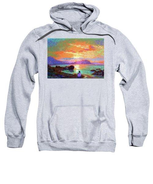 Peace Be Still Meditation Sweatshirt