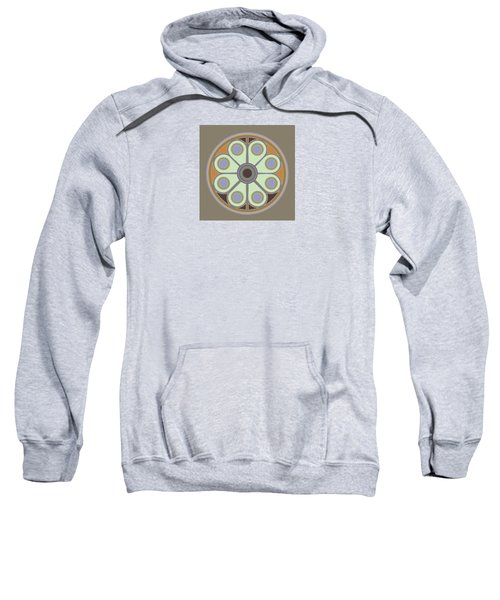 Peace Flower Circle Sweatshirt