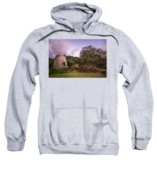 Sweatshirt featuring the photograph Peace Hill Ruins by Adam Romanowicz