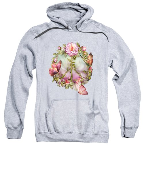 Peace Rose Sweatshirt