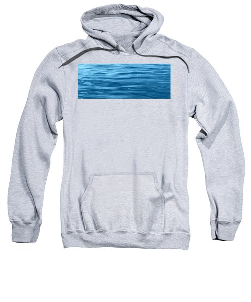 Peaceful Blue Sweatshirt