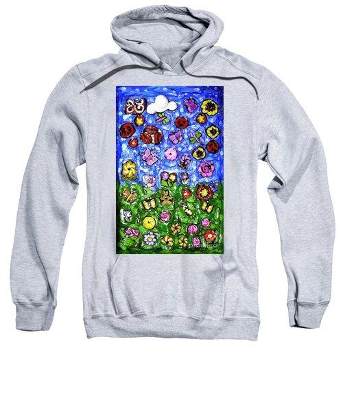 Peaceful Glowing Garden Sweatshirt