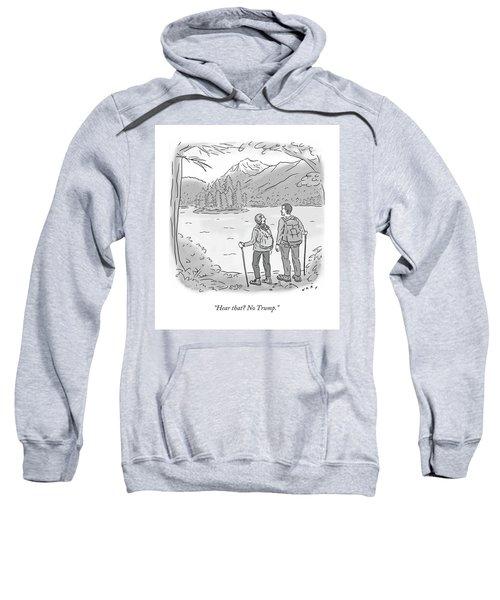 Peaceful Hikers Sweatshirt