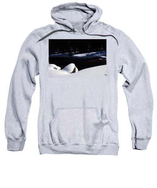 Peaceful Winter Scene Sweatshirt