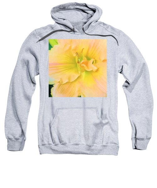 Peach Lily Sweatshirt