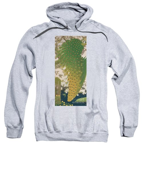 Peacocks And Cherry Tree Sweatshirt