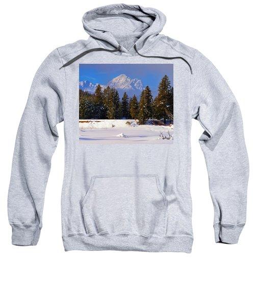 Peaking Through Sweatshirt